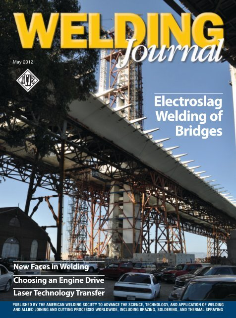 Welding Journal - May 2012 - Files.aws.org - American ... on