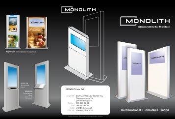 Prospekt Monolith.pdf - Eichmann Electronic AG