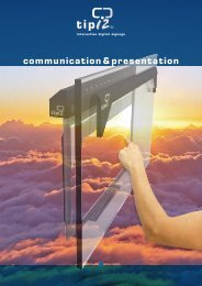 communication&presentation - Eichmann Electronic AG