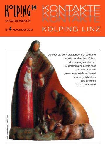 Zeitung Nr. 4 November 2012 - Kolping Linz