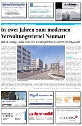Kantonales Verwaltungszentrum Neumatt - Dr. Eicher + Pauli AG
