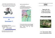 Info, Programm und Anmeldung - Kerntechnische Gesellschaft eV