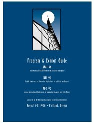 Program & Exhibit Guide - Association for the Advancement of ...