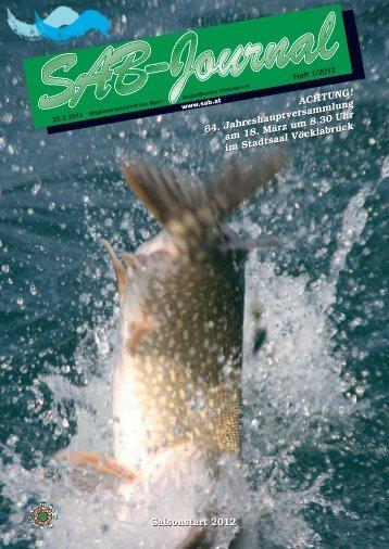 SAB Journal 2012/1 - Sportanglerbund Vöcklabruck