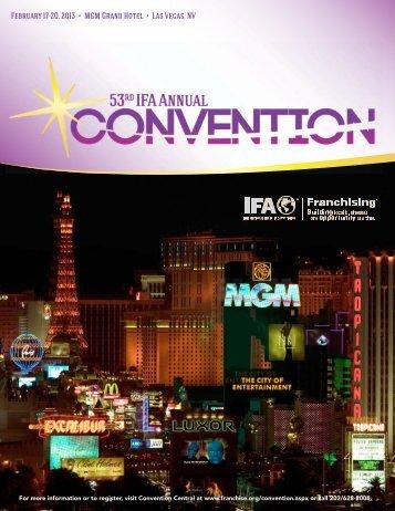 February 17-20, 2013 • MGM Grand Hotel • Las Vegas, NV