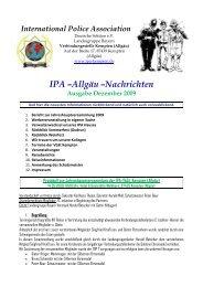 Allgäu Nachrichten Dezember 2009 - IPA Kempten