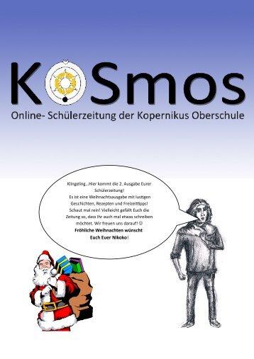 2. Ausgabe der Online-Schülerzeitung. 17 Seiten! (PDF