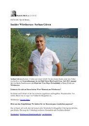 Insider Wörthersee: Serhan Güven - Viva