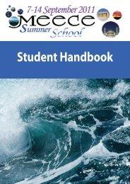 Student Handbook - meece