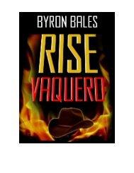 100% FREE Download The full Novel PDF! - Byron Bales.com Author