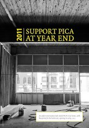 2011 at year end - Portland Institute for Contemporary Art