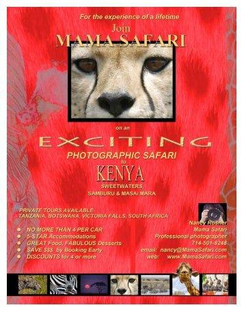 click here to download the brochure in a - Mama Safari