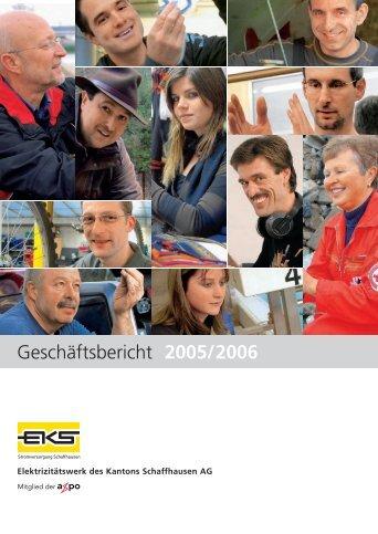 Ab 2006 sind wir als Energieversorger in der Schweiz und ... - EKS AG