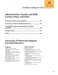Administration, Faculty, Staff, Campus Maps, Index - University ...