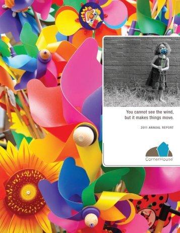 2011 Annual Report - CornerHouse