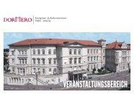 Broschüre - DORMERO Kongress und Kulturzentrum in Halle