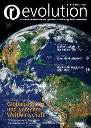 Globalisierung und gerechte Weltwirtschaft Globalisierung ... - Inwo