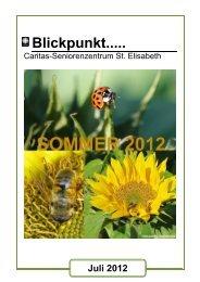 Ausgabe Juli 2012 - Seniorenzentrum Oberstaufen