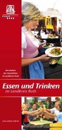 Essen und Trinken - Landratsamt Roth