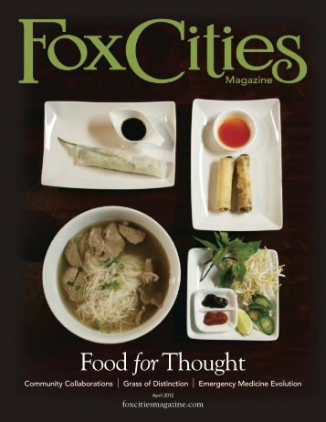 Food forThought - Fox Cities Magazine