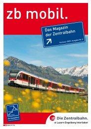 Sommer 2009 - Zentralbahn