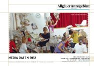 MEdia datEn 2012 - Allgäuer Anzeigeblatt