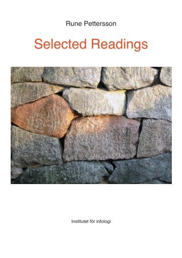 Selected Readings - Bilderlernen.at
