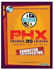 Prospectus .pdf - American Probation and Parole Association
