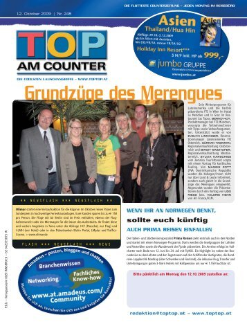 Grundzüge des Merengues - top am counter