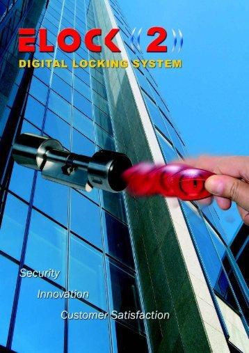 ELOCK2 - the intelligent lock cylinder - EHAG Electronic Hardware AG