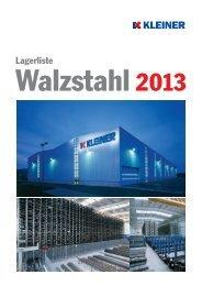 Das komplette Lieferprogramm für Walzstahl im Überblick