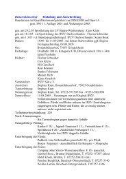 Bonartshäuserhof Einladung und Ausschreibung Hausturnier ... - IPZV