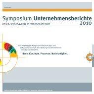 Einladungsbroschüre zum Symposium - Kirchhoff Consult AG