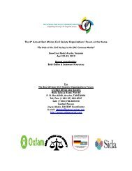eacsof report 2010-04-22 - East African Civil Society Organisations ...