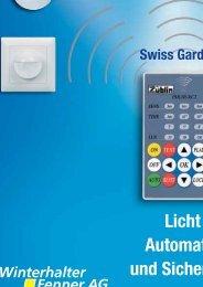 Bewegungsmelder Swiss Garde