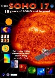 Abstract Book - SoHO - NASA
