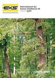 Geschäftsbericht 2008/09 - EKS AG