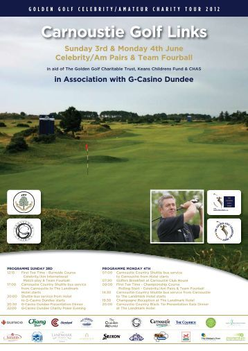 Carnoustie Golf Links - Dundee & Angus Chamber of Commerce