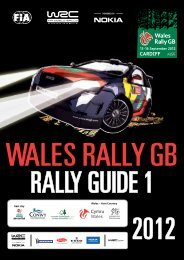 13-16 September 2012 - Wales Rally GB
