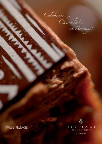 Chocolate - Heritage Awali Golf and Spa Resort