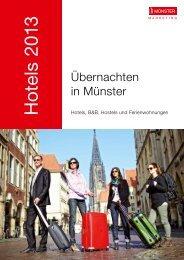 Hotels 2013 - Stadt Münster