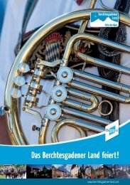 Broschüre zum download - Berchtesgadener Land