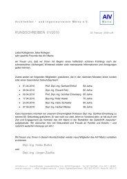 AIV - Architekten- und Ingenieur Verein Mainz eV