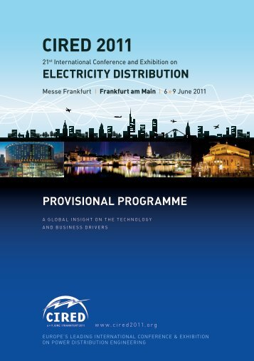 provisional program - CIRED 2011