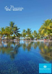 Hotel Overview PDF - Beachcomber Tours