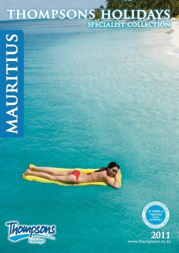 Mauritius - Thompsons Tours