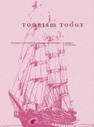 Tourism Today - College of Tourism and Hotel Management