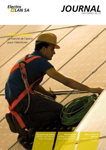2ème édition 2010 - Photovoltaïque - Winterhalter + Fenner AG