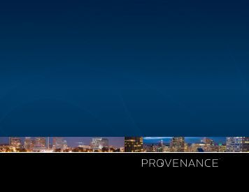 Provenance Hotels Brochure (PDF)