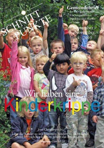 Schnitt punkte - Kirchenkreis Burgdorf